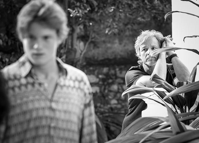 Marcello Novaes assumiu o papel de pai coruja de Pedro (Foto: Raphael Dias / Gshow)