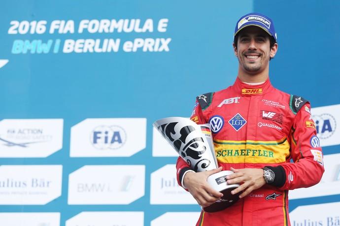 Lucas di Grassi foi terceiro no ePrix de Berlim (Foto: Divulgação)