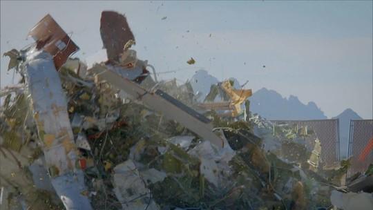 Fantástico - Você vai conhecer um depósito de aviões encalhados