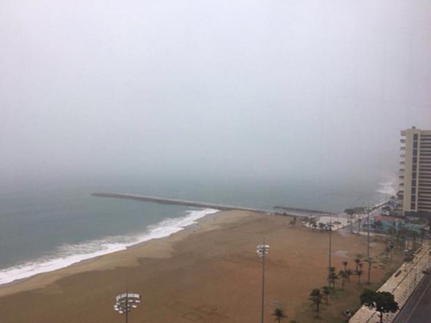 Fortaleza deve receber boas chuvas neste fim de semama, segundo a Funceme (Foto: Beatriz Gurgel/Arquivo Pessoal)