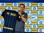 """Apresentado no Inter, De Boer fala de Gabriel: """"Muitos grandes interessados"""""""