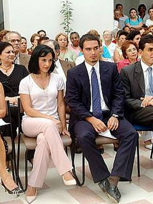 Lu Alckmin e Thomaz em evento no ano passado. (Foto: Arquivo/Divulgação)