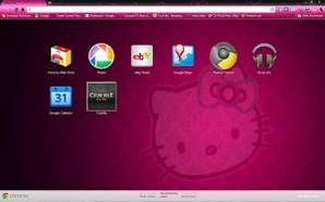 Tema Hello Kitty para Google Chrome