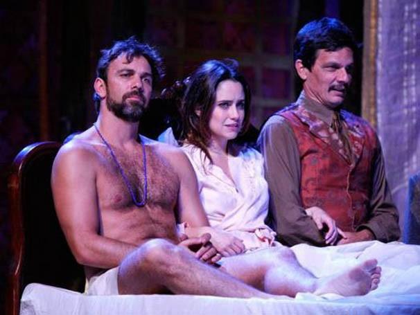 Adaptação da obra 'Dona Flor e Seus Dois Maridos' para o teatro (Foto: Divulgação)