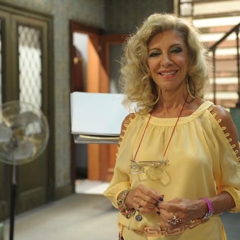 Marília Pêra: de volta a 'Pé na cova' (Foto: João Cotta/ TV Globo)