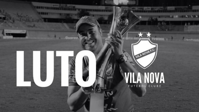 Vila Nova - luto - rafael augusto (Foto: Reprodução / Instagram)