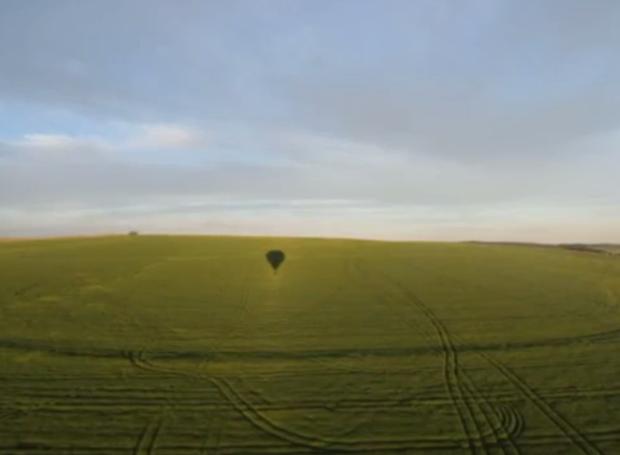 A vasta área verde é de tirar o fôlego (Foto: Reprodução/RPC)