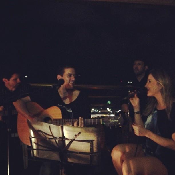 Claudia Leitte faz show em Fortaleza (Foto: Instagram/ Reprodução)