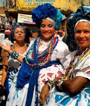 Confira imagens dos festejos  pela independência na Bahia (Alan Tiago/G1)