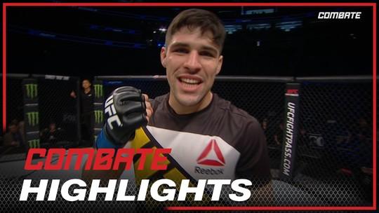 Mente forte: luta na casa do adversário no UFC Londres motiva Vicente Luque