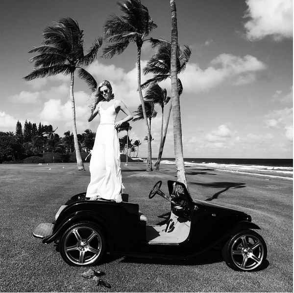 A atriz e modelo Nicola Peltz (Foto: Instagram)