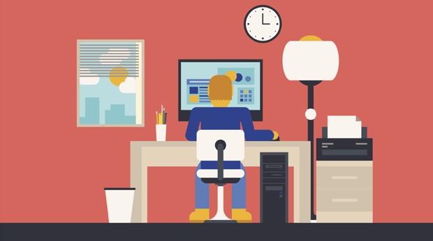 empreendedor, home office, trabalho, escritorio, casa (Foto: ThinkStock)