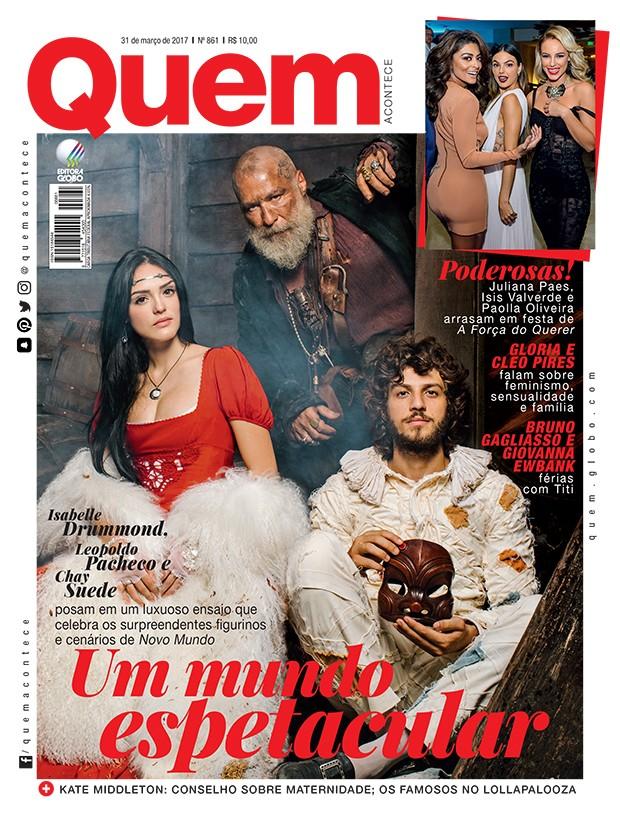 Elenco de Novo Mundo posa para QUEM (Foto: Editora Globo)