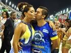 Juliana Alves desfila na Sapucaí ao lado do namorado