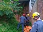 Menor cai em cisterna após tentar fugir da polícia em Ipatinga