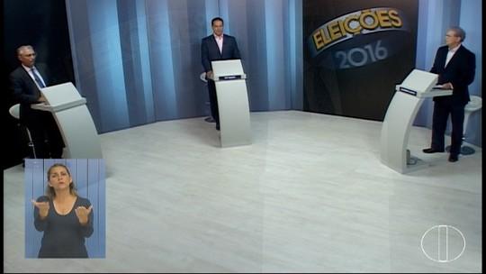 Candidatos à prefeitura de Montes Claros participam de debate