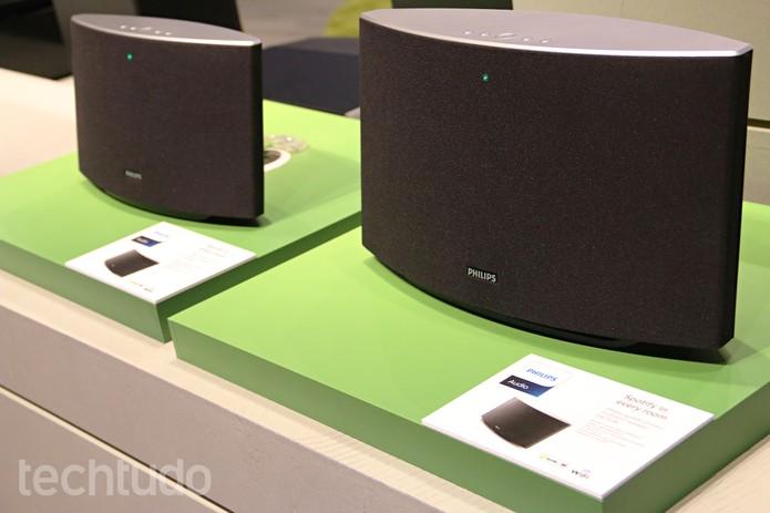 Philips Spotify Multiroom Speakers (Foto: Fabrício Vitorino/TechTudo)