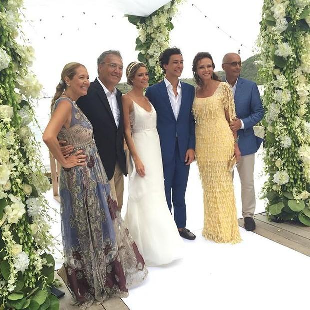 Marcos Proença mostra imagens do casamento (Foto: Reprodução/Instagram)