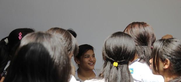 Sarah Menezes; judô; piauí (Foto: Náyra Macêdo/GLOBOESPORTE.COM)