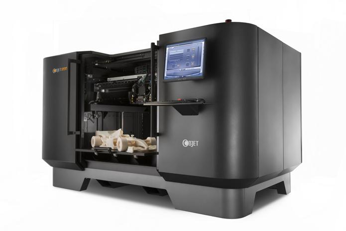Método jato de tinta é usado por cientistas em busca da impressão de órgãos humanos (Foto: Divulgação/BJet)