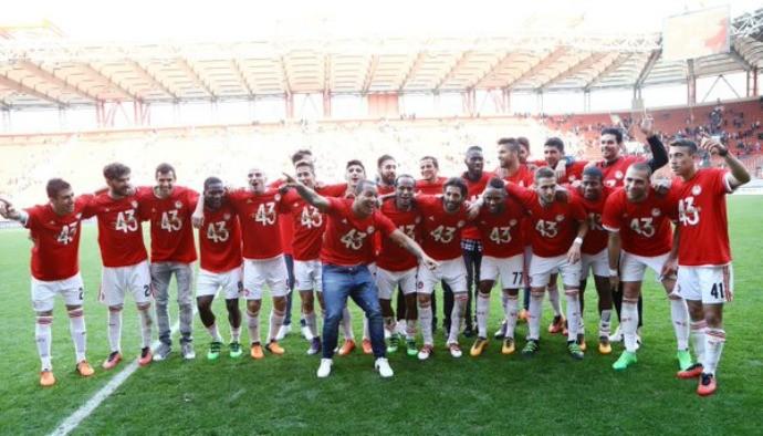 BLOG: Olympiacos de Leandro Salino vence o Veria e conquista o Campeonato Grego