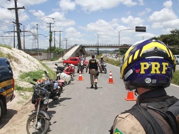 Operação Rota Segura da PRF (Foto: Divulgação / Polícia Rodoviária Federal)