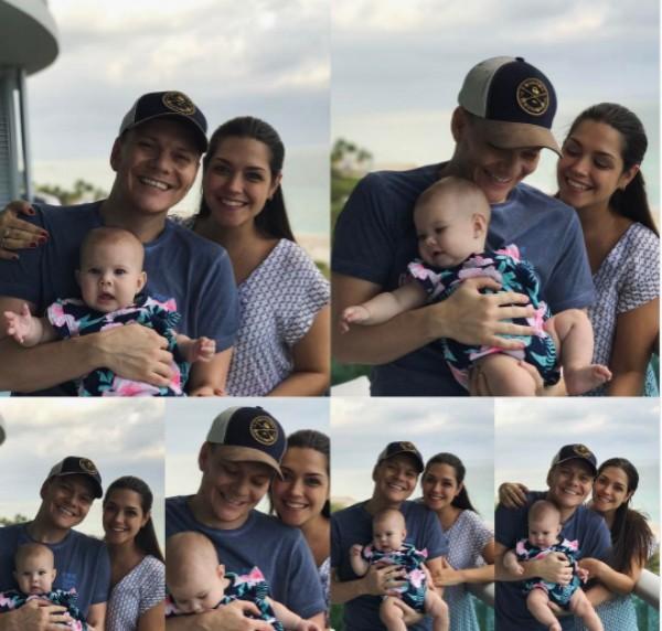 Michel Teló  Thais Fersoza fazem clique fofo com a filha em viagem (Foto: Reprodução / Instagram)