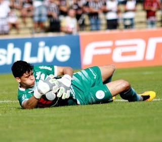Rodrigo Viana, goleiro do São Bento (Foto: Jesus Vicente/ EC São Bento)