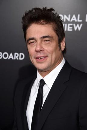 Benicio del Toro em evento em Nova York, nos Estados Unidos (Foto: Jamie McCarthy/ Getty Images/ AFP)