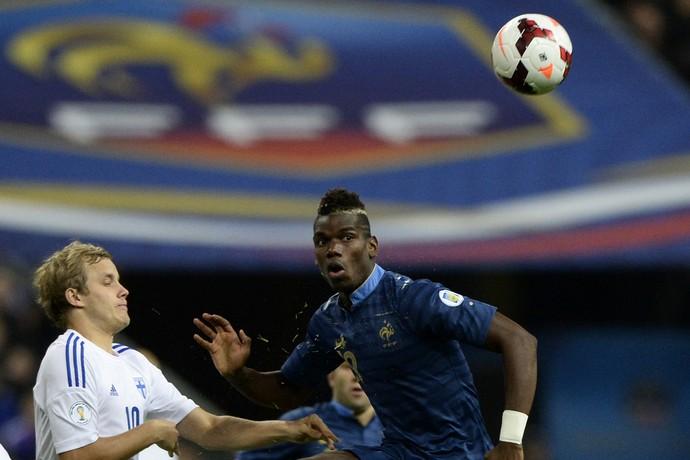 pukki pogba frança x finlandia (Foto: AFP)