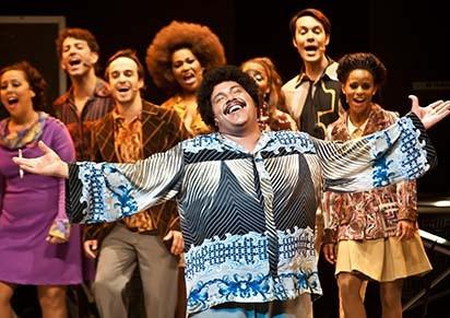 Elenco é formado por especialistas em musicais (Foto: Divulgação)