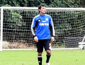 Gonzalez treino Flamengo (Foto: Cahê Mota)