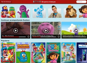 Netflix tem seção para crianças (Foto: DReprodução/Netflix)