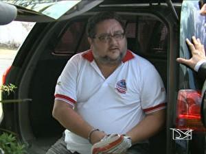 Claudio Henrique Bezerra Barcelos, diretor da Casa de Detenção do Complexo de Pedrinhas (Foto: Reprodução)