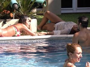 BBB às 16h40m do dia 06/02. (Foto: Big Brother Brasil)