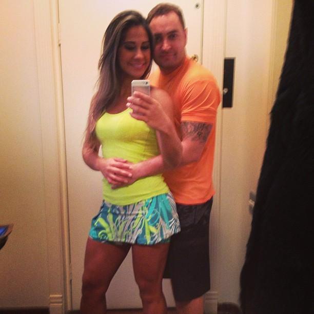 Mayra Cardi e o marido (Foto: Instagram/ Reprodução)