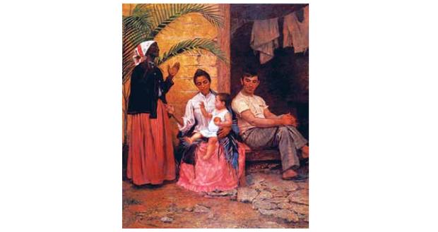 """""""A redenção de Cam"""" (1895), de Modesto Brocos y Gomes (Foto: itaucultural.org.br)"""