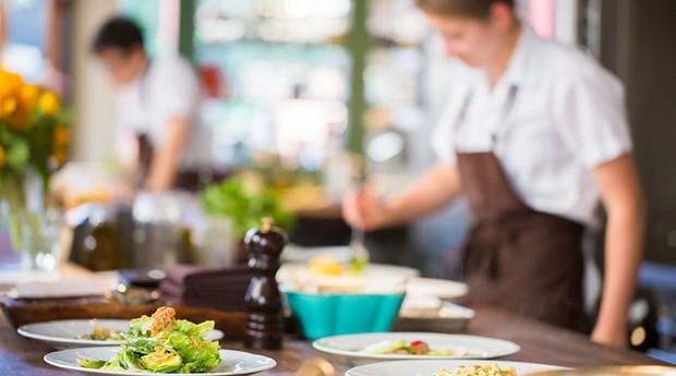 restaurante; alimentação; comida (Foto: Thomas Hawk)