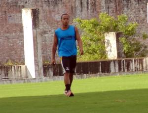 botafogo-pb, thiaguinho, série d, treino (Foto: Divulgação / Botafogo-PB)