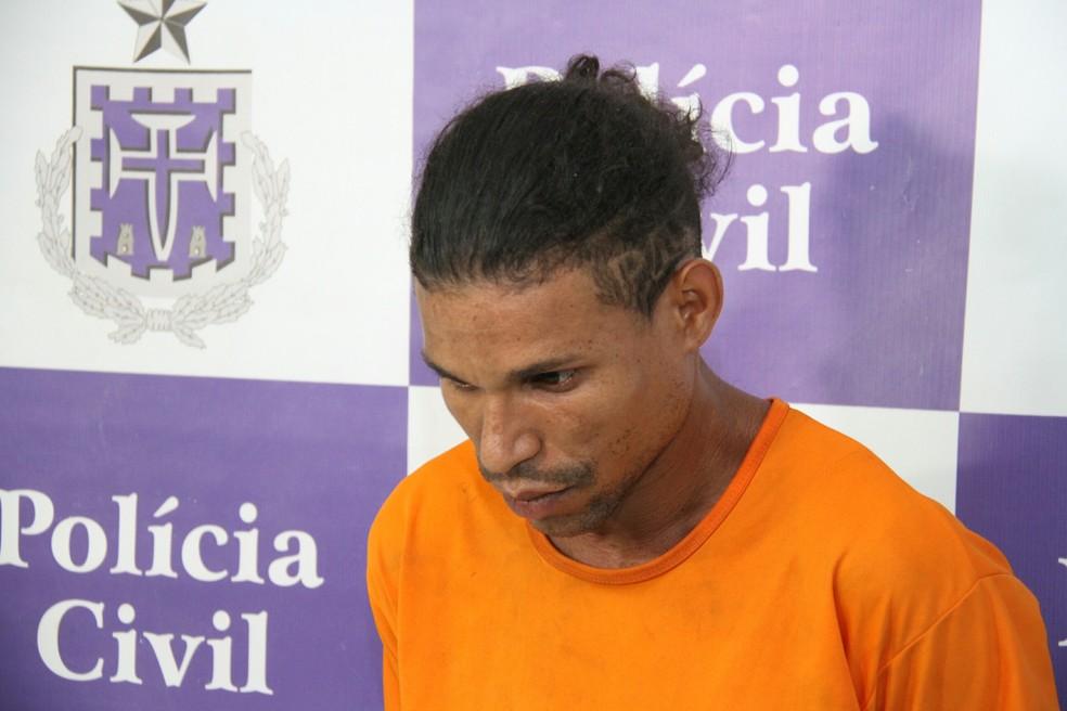 vendedor ambulante confessou crimes à polícia (Foto: Divulgação/Polícia Civil)