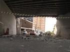 Vídeo mostra momento em que pedra cai de viaduto e mata pescador na BA