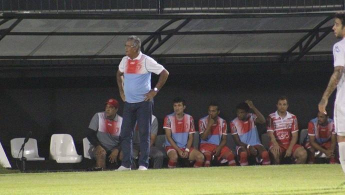 Dário Lourenço técnico Potiguar de Mossoró (Foto: Fabiano de Oliveira/GloboEsporte.com)