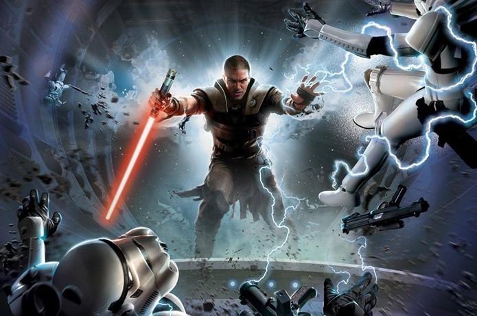 Aprendiz de Darth Vader é o protagonista de Star Wars: The Force Unleashed (Foto: Divulgação/LucasArts)