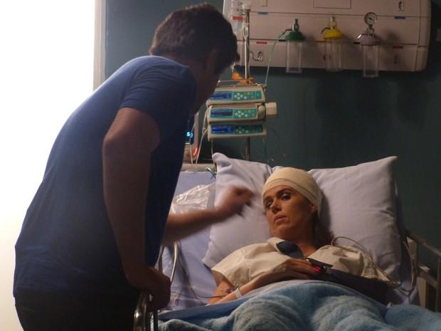 Sandra revela ter tido um filho com Jonas (Foto: Geração Brasil/TV Globo)