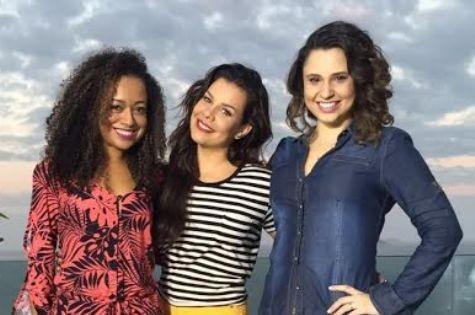 Aretha Oliveira, Fernanda Souza e Francis Helena (Foto: Arquivo pessoal)