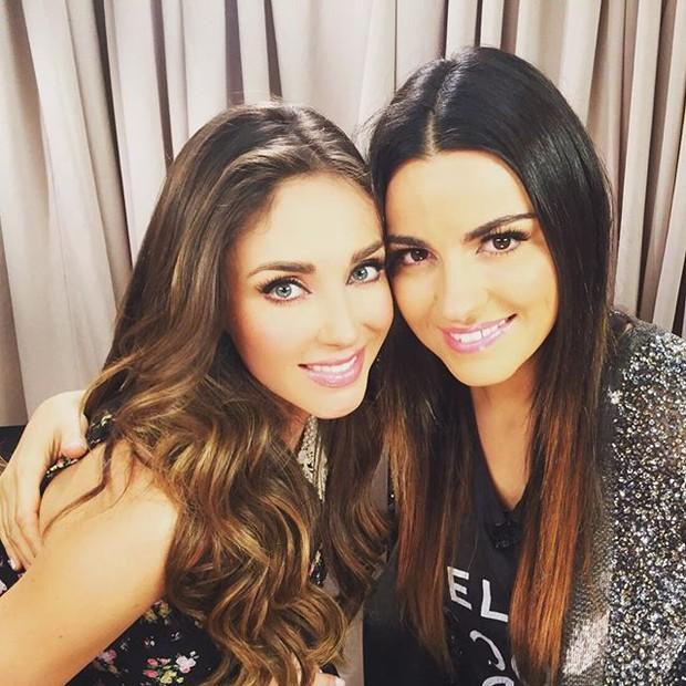 Anahí e Maite Perroni (Foto: Reprodução/Instagram)