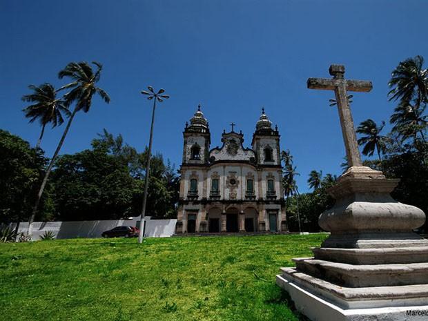 Igreja Nossa Senhora dos Prazeres (Foto: Prefeitura de Jaboatão / Divulgação)
