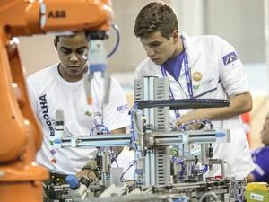 SP sedia maior competição de educação profissional do mundo (Foto: Divulgação SENAI)