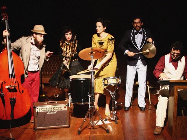 Banda ensaia há 10 anos, mas nunca se apresentou (Foto: Divulgação / Sesc Sorocaba)