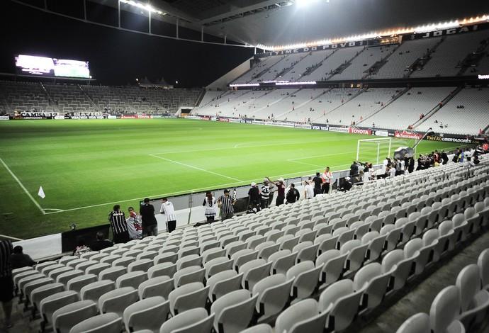 Arena Corinthians, Corinthians x San Lorenzo (Foto: Marcos Ribolli)